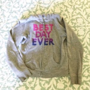 Old Navy Girl's Hoodie, Size 10-12